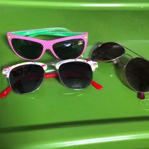 Other - Girls Sunglasses bundle *FREE Hello Kitty Julius